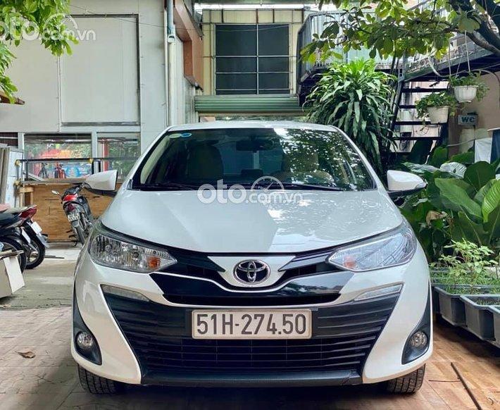 Cần bán gấp Toyota Vios 2020, màu trắng số tự động, 485tr0