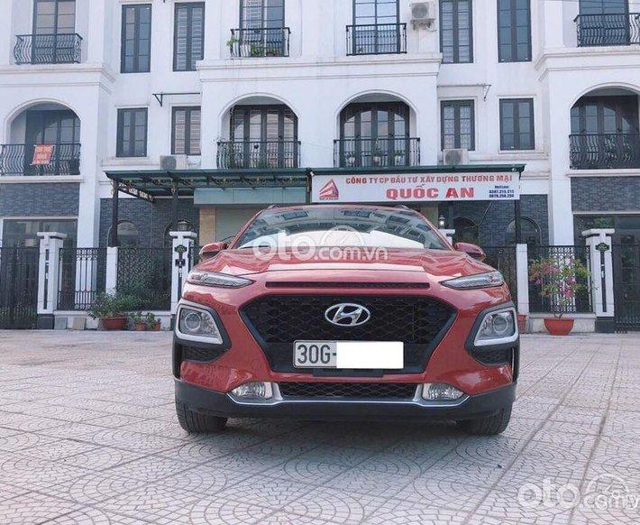 Cần bán Hyundai Kona sản xuất năm 2020, màu đỏ như mới0