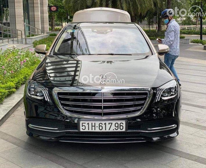 Cần bán lại xe Mercedes S450 năm sản xuất 2019, màu đen, nhập khẩu0