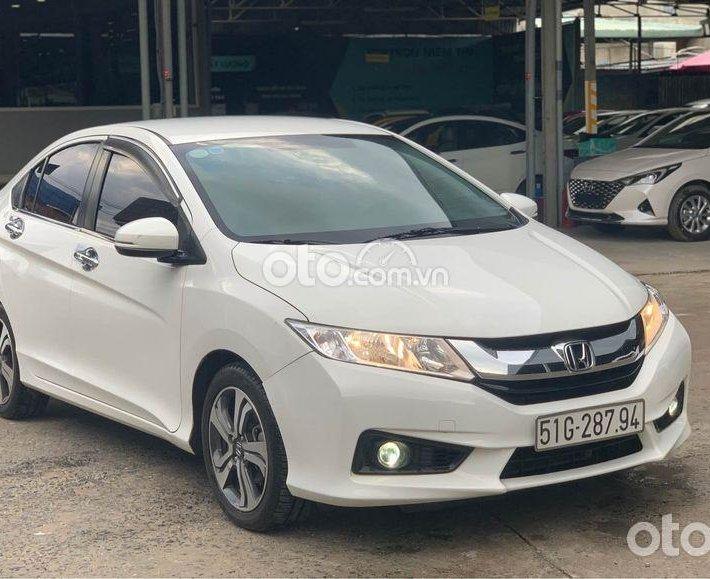Xe Honda City CVT 2017, biển Sài Gòn màu trắng0