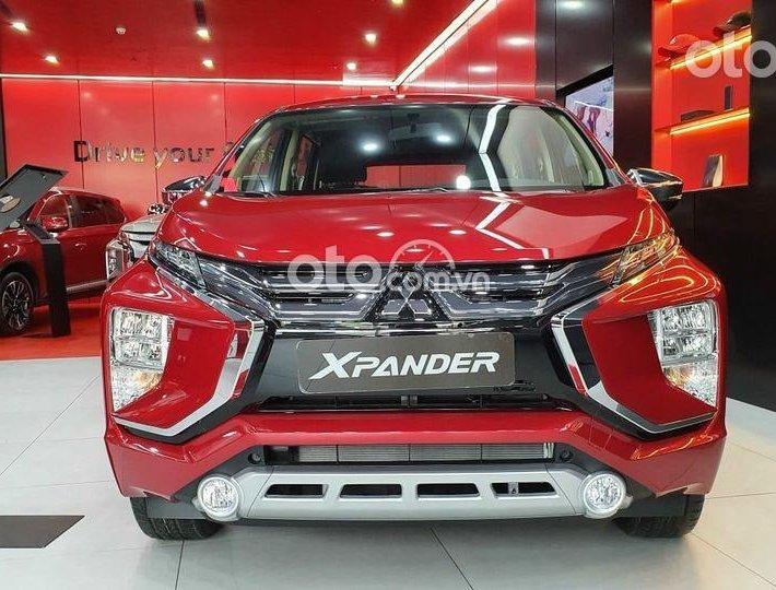 Bán Mitsubishi Xpander sản xuất 2021, màu đỏ0