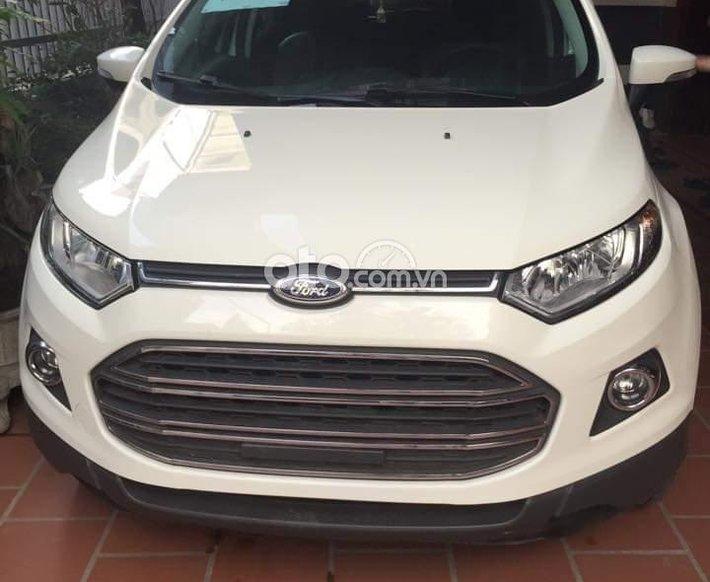 Cần bán Ford EcoSport năm sản xuất 2015, màu trắng số tự động, chính chủ0