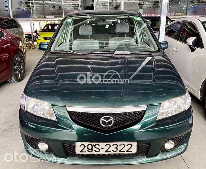 Bán Mazda Premacy năm sản xuất 2003, màu xanh lam còn mới, giá 168tr0