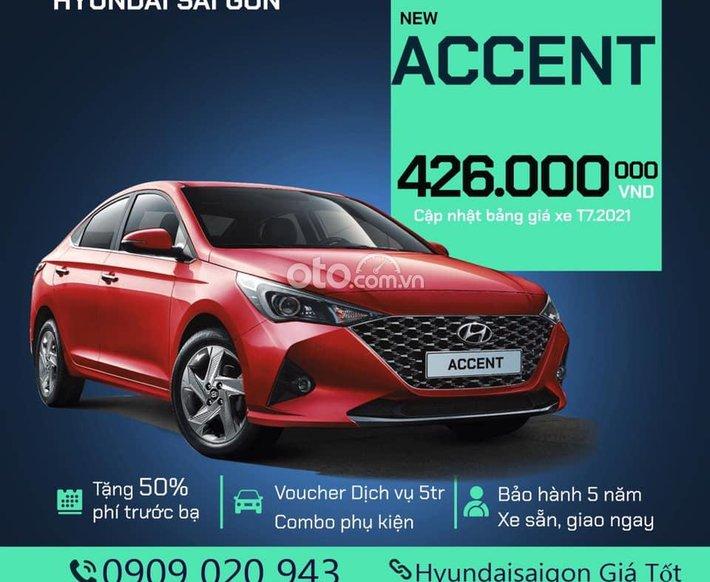 Bán Hyundai Accent 2021, màu đỏ giá cạnh tranh0
