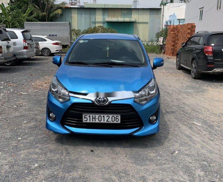 Bán Toyota Wigo năm sản xuất 2019, xe nhập còn mới0