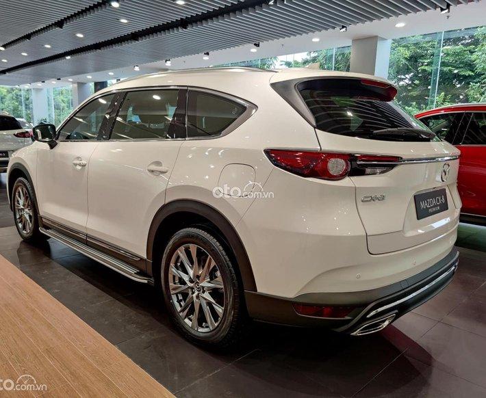 Bán xe Mazda CX-8 Luxury 2021, màu trắng - Ưu đãi lên đến 10 triệu0