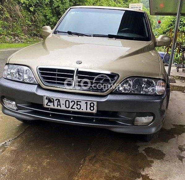 Cần bán lại xe Ssangyong Musso sản xuất 2008, màu nâu số tự động, 160tr0