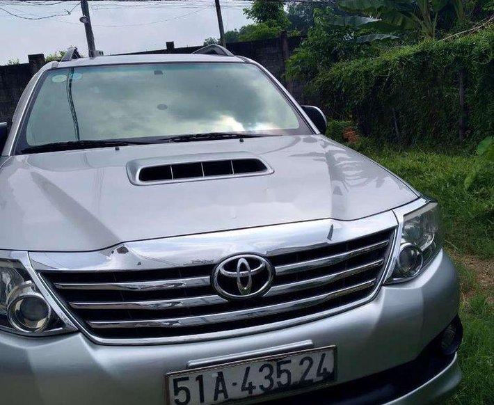 Cần bán Toyota Fortuner 2014, màu bạc, nhập khẩu chính chủ0
