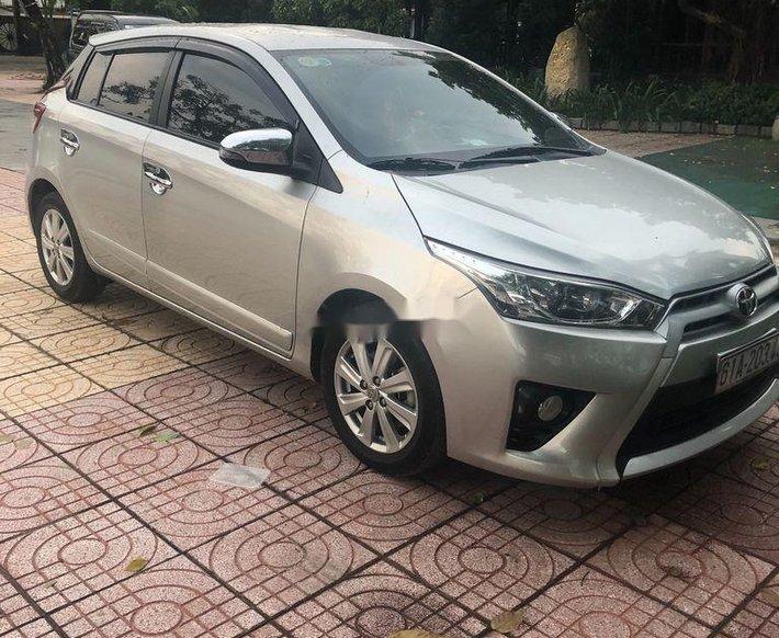 Bán Toyota Yaris sản xuất năm 2014, màu bạc, xe nhập, giá chỉ 445 triệu0