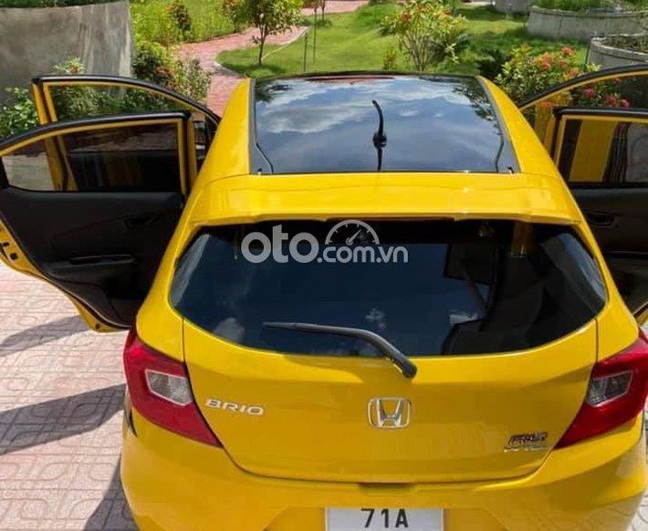 Cần bán Honda Brio sản xuất năm 2021, màu vàng, nhập khẩu, 450 triệu0