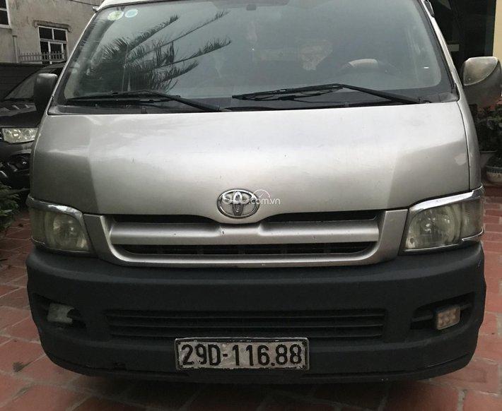 Bán Xe Toyota Hiace bán tải năm sản xuất 2005 màu bạc, còn mới0