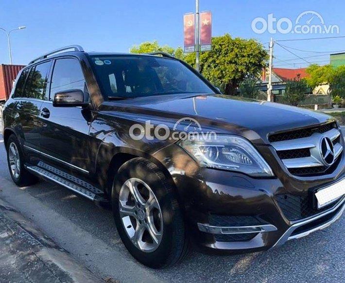Bán Mercedes GLK250 sản xuất 2013, màu nâu còn mới, 815 triệu0