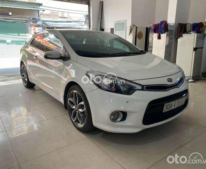Cần bán lại xe Kia Cerato Koup 2014, màu trắng, xe nhập0