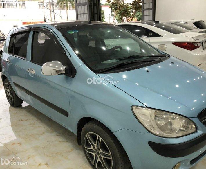 Xe Hyundai Getz MT 2010 bản đủ màu xanh, giá cạnh tranh0