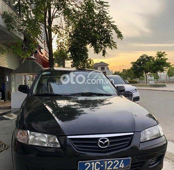 Bán Mazda 626 2.0 MT sản xuất năm 2003, màu đen còn mới, giá chỉ 126 triệu0