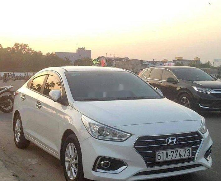 Bán ô tô Hyundai Accent năm 2020, màu trắng, xe nhập xe gia đình0