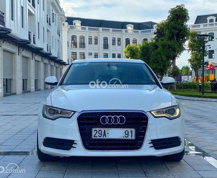 Bán Audi A6 đời 2013, màu trắng, nhập khẩu nguyên chiếc0