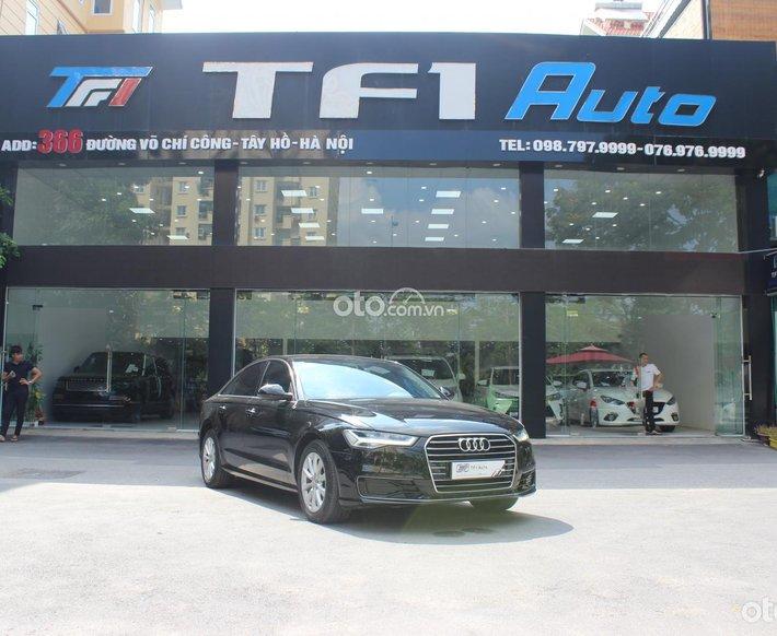 Bán Audi A6 1.8L sản xuất 2015, đăng ký lần đầu 2016, màu đen0