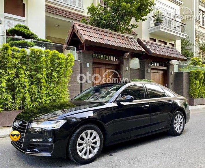 Cần bán xe Audi A6 sản xuất năm 2015, màu đen, nhập khẩu nguyên chiếc còn mới0