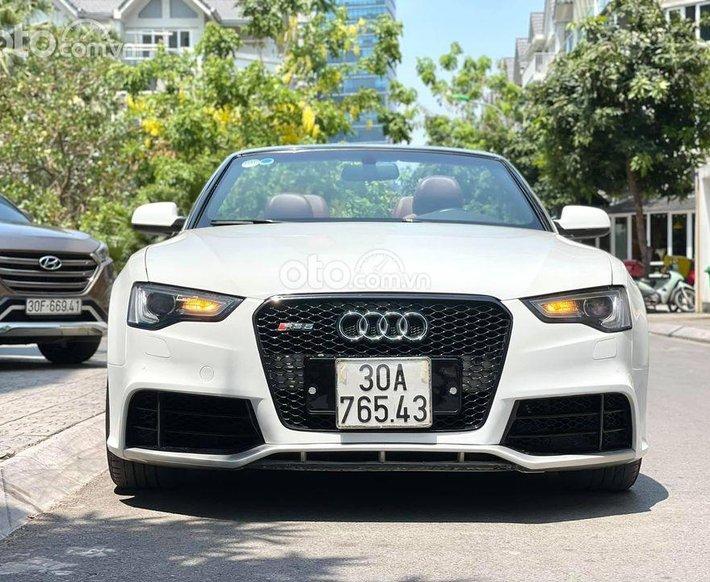 Bán ô tô Audi A5 2.0 sx 2009 đk 2011 màu trắng0