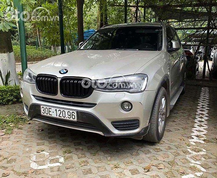 Cần bán lại xe BMW X3 đời 2015, màu bạc, nhập khẩu nguyên chiếc0