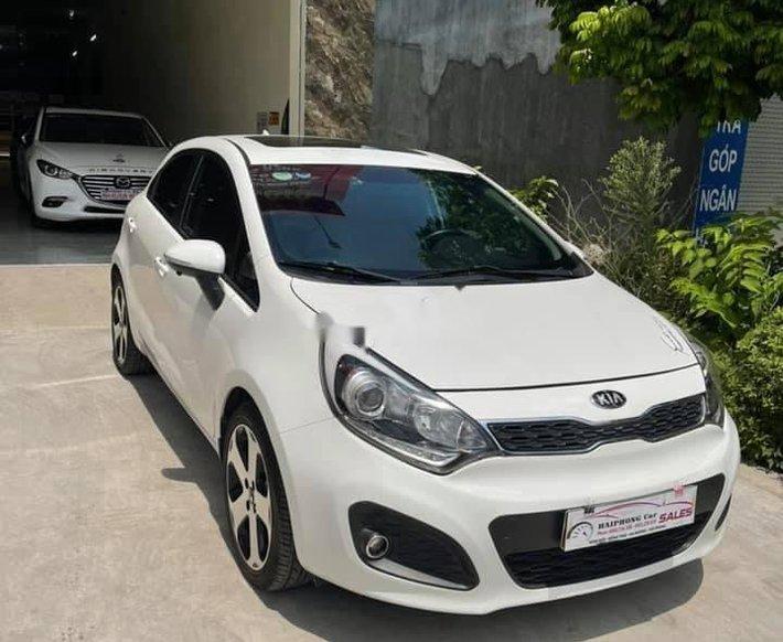 Bán Kia Rio sản xuất 2012, màu trắng, xe nhập0