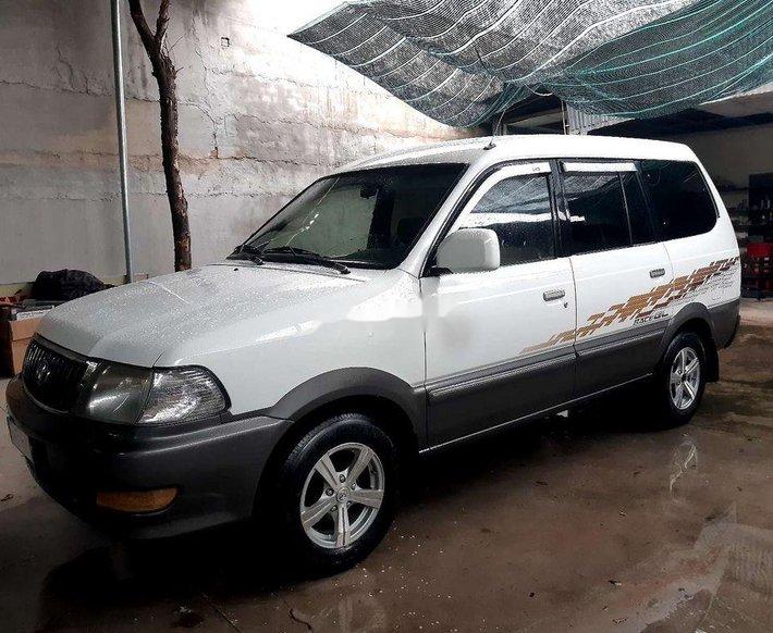 Cần bán Toyota Zace GL sản xuất 2005, màu trắng  0