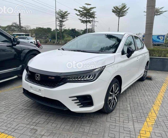 Bán Honda City All new 2021, màu trắng, giá 599tr0