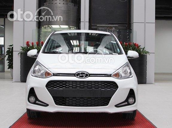 Hyundai An Khánh - Hyundai Grand i10 1.2 AT 2021 giá sốc - hỗ trợ mua trả góp 85% giá trị xe - sẵn xe giao ngay0