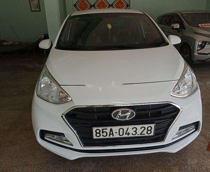 Bán ô tô Hyundai Grand i10 đời 2019, màu trắng, nhập khẩu nguyên chiếc xe gia đình, giá tốt0