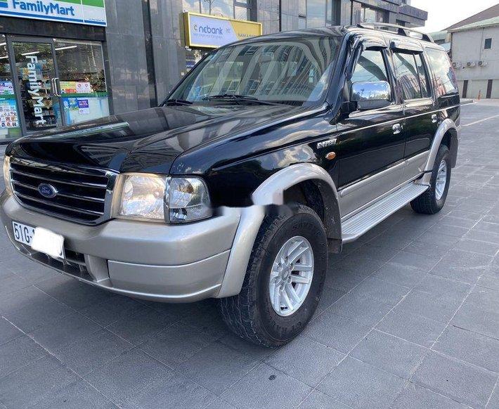Cần bán lại xe Ford Everest đời 2006, màu đen xe gia đình, 199 triệu0