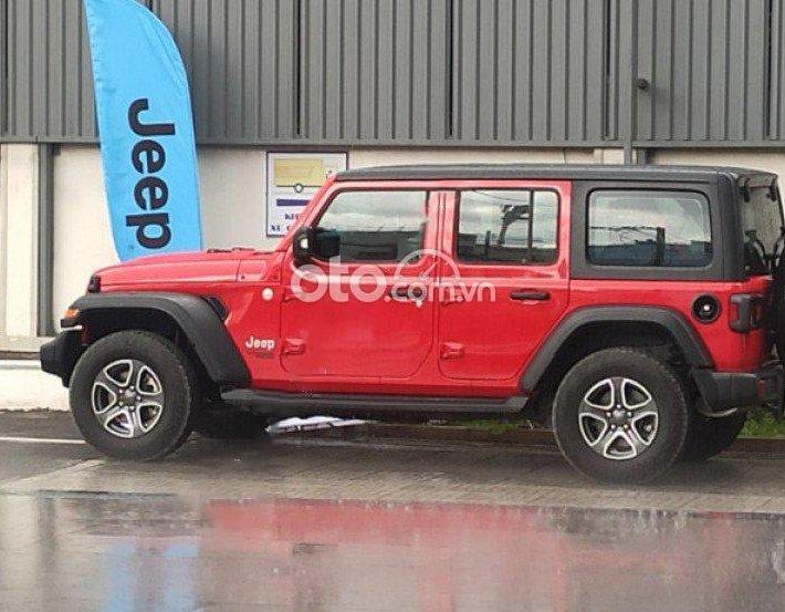 Cần bán Jeep Wrangler Sport 2.0 4x4 AT đời 2020, màu đỏ, nhập khẩu0