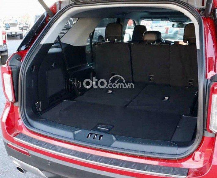 Bán xe Ford Explorer Limited 2.3 EcoBoost sản xuất 2021, màu đỏ, xe nhập0