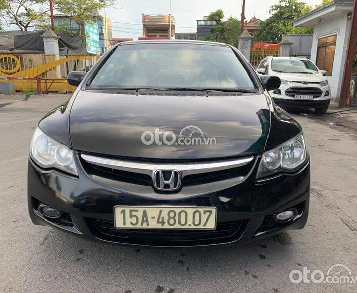 Cần bán lại xe Honda Civic sx 2006 dky 2007 màu đen giá 240tr0