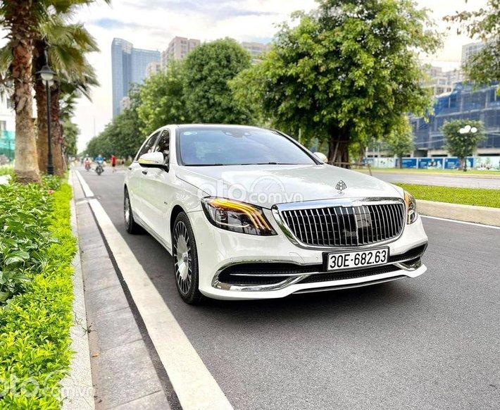 Cần bán lại xe Mercedes S500 năm sản xuất 2016, màu trắng, nhập khẩu nguyên chiếc0
