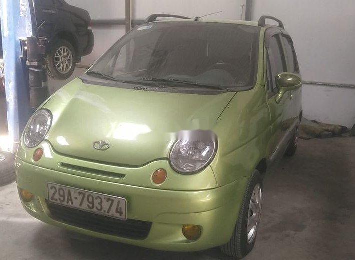 Bán ô tô Daewoo Matiz đời 2004, màu xanh, giá bán 50 triệu0