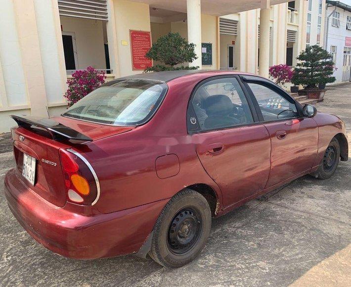 Cần bán gấp Daewoo Lanos đời 2000, màu đỏ, nhập khẩu nguyên chiếc0