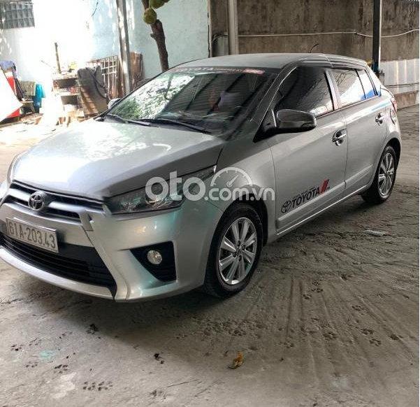 Cần bán lại xe Toyota Yaris 1.3G sản xuất 2014, màu bạc, nhập khẩu Thái giá cạnh tranh0