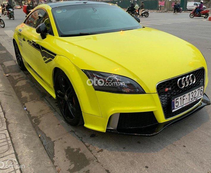 Bán Audi TT sản xuất 2008, màu vàng, nhập khẩu nguyên chiếc, 750 triệu0