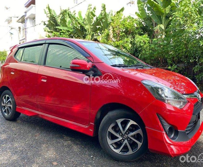 Bán Toyota Wigo 1.2 G đời 2018, màu đỏ còn mới0