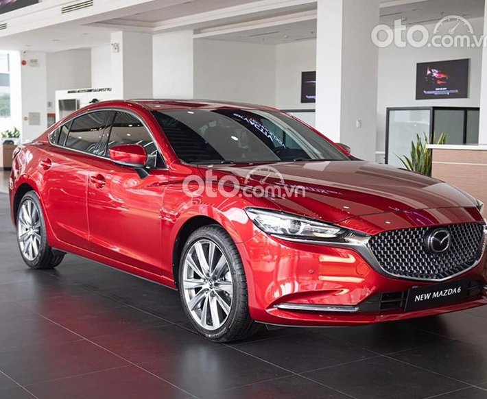 Bán Mazda 6 2.5L Signature Premium năm 2020, màu đỏ0