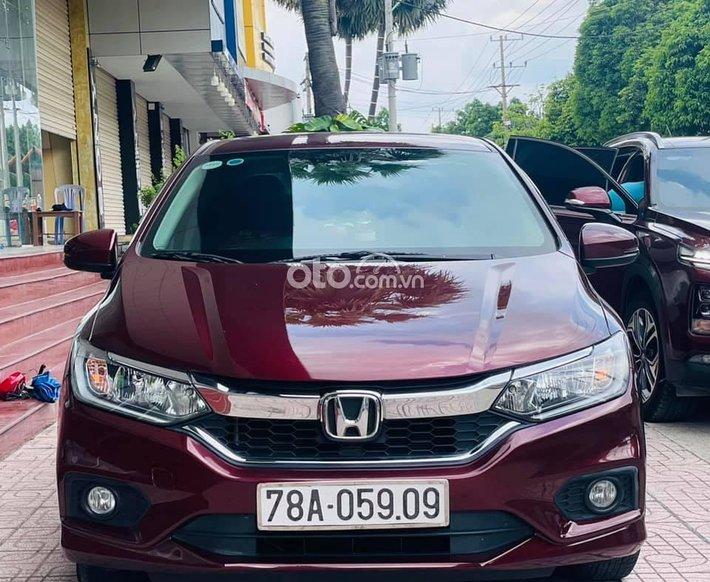 Xe Honda City CVT sản xuất năm 2018, màu đỏ0