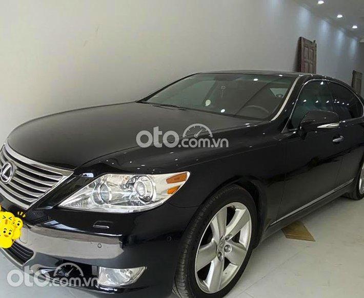 Cần bán Lexus LS 460L năm sản xuất 2009, màu đen, nhập khẩu còn mới0