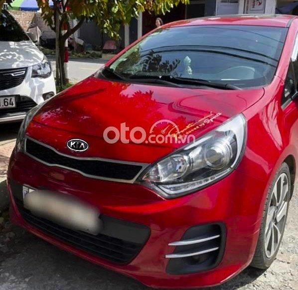 Bán Kia Rio sản xuất năm 2015, màu đỏ, xe nhập còn mới, 415tr0