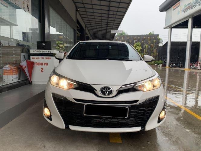 Cần bán Toyota Yaris G 1.5 AT năm 2019, màu trắng, nhập khẩu nguyên chiếc số tự động giá cạnh tranh0