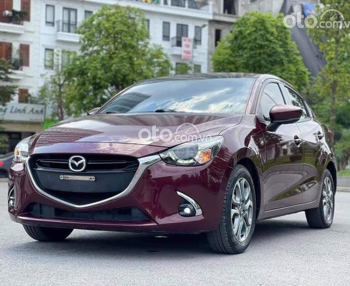 Bán xe Mazda 2 năm 2018, màu đỏ mận, nhập khẩu Thái Lan giá cạnh tranh0