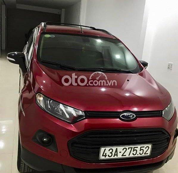 Bán Ford EcoSport sản xuất năm 2017, màu đỏ còn mới0
