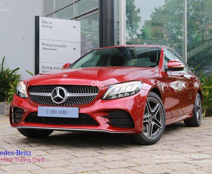 [Ưu đãi khủng tháng 7] Mercedes C180 2021 - đủ màu - giao ngay - hỗ trợ vay 80% - mỗi tháng trả cố định 1,8 triệu0