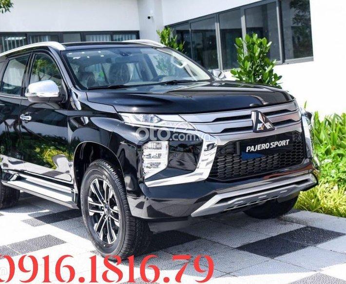 Bán xe Mitsubishi Pajero Sport D2 AT đời 2021, màu đen - Tặng gói bảo dưỡng 35 triệu VNĐ0