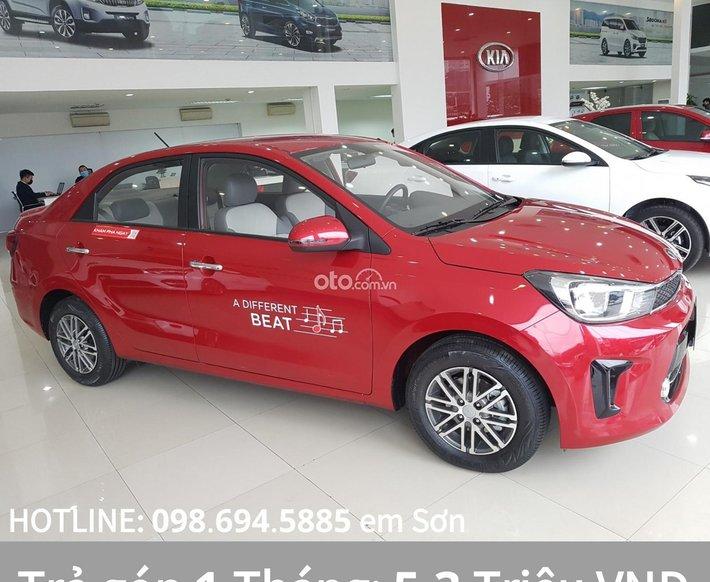 Bán xe Kia Soluto AT đời 2021, màu đỏ0